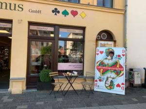 Eriinerung an den Altenburger Spielkartenladen