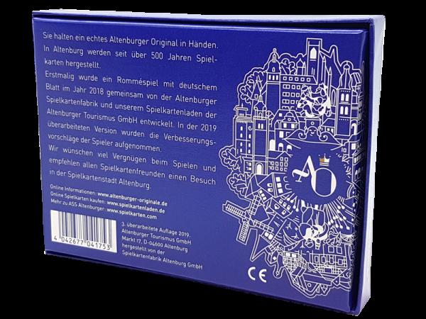 Rommé-Blatt mit deutschem Bild, limitierte Neuauflage 2019, Edition