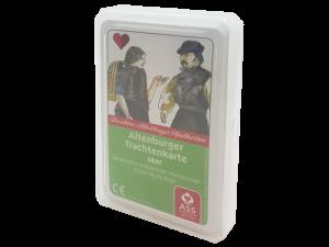 Skat Altenburger Trachtenkarte - Detailgetreue Neuauflage, deutsches Bild, Edition