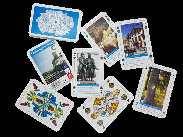 Thüringen-Skat - Jubiläumsausgabe 100 Jahre Freistaat Thüringen, deutsches Bild, Edition