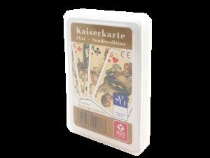 Skat-Edition, französisches Blatt mit aufwändigem 7-farbigen Druck