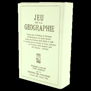 """Jeu de la Geographie"" - antiquarisches Kartenspiel aus Italien, 1986, limitierte Auflage"