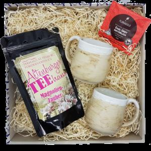 Ideal für kalte Herbst- oder Wintertage eignet sich unsere Tee-Box.