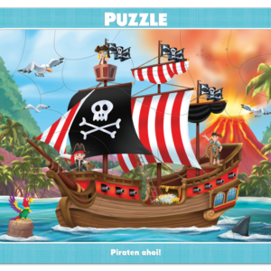 Rahmenpuzzle, Piraten Ahoi