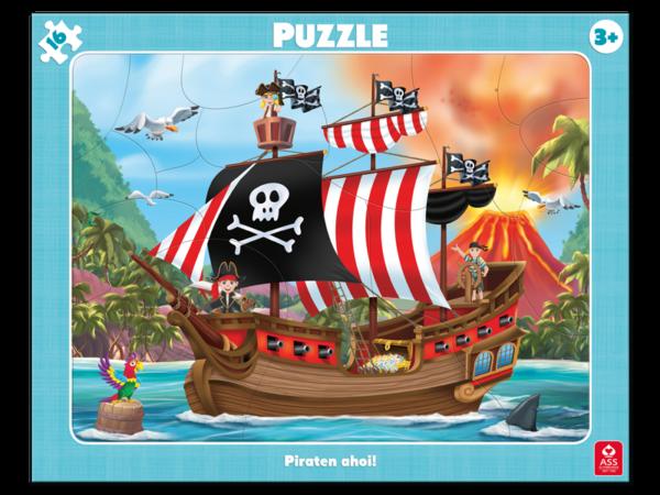 Rahmenpuzzle, Piraten Ahoi