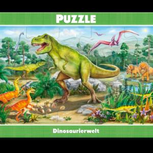 Rahmenpuzzle, Dinosaurierwelt