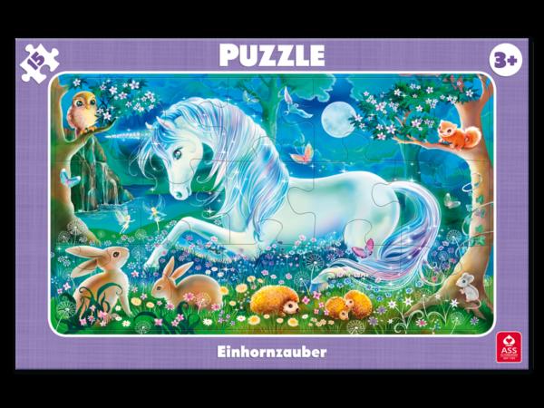 Rahmenpuzzle, Einhornzauber