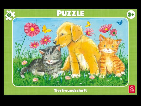 Rahmenpuzzle, Tierfreundschaft