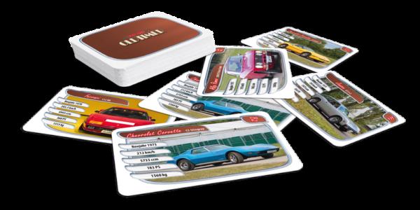Quartett, Oldtimer Sportwagen: Spiel- und Sammelfreude mit coolen Oldtimern