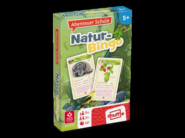 Natur-Bingo aus der Reihe Abenteuer Schule: Ein Lernquartett zum Thema Natur, für Kinder ab 6 Jahren