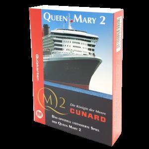 Quizkarten Queen Mary 2 - alles rund um die Königin der Meere