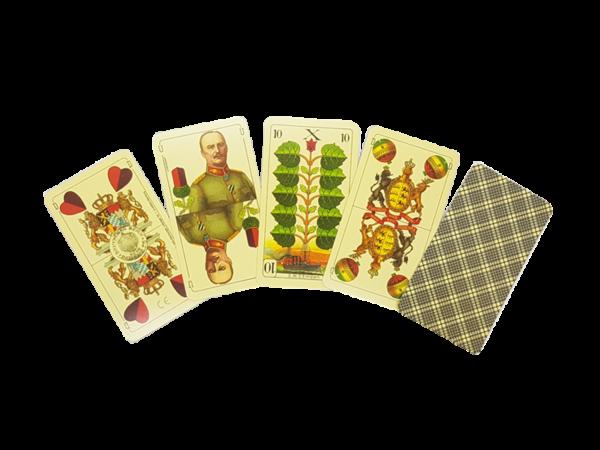 Deutsche Kriegsspielkarte aus dem 1. Weltkrieg, Nachdruck.