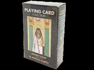Antiquarische Bridge-Spielkarten zum Thema: Das Alte Ägypten - Geschichte auf Spielkarten erleben