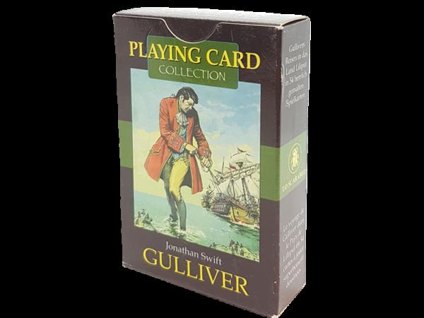 Bridge, Gulliver - Antiquarisch. Märchen auf Spielkarten erleben, Rückseite
