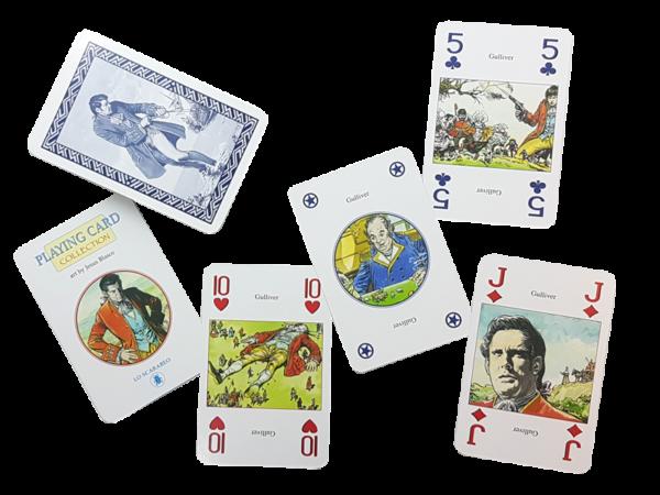Bridge, Gulliver - Antiquarisch. Märchen auf Spielkarten erleben, offen