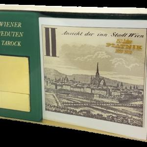 Antiquarisches Veduten-Tarock in edler Verpackung