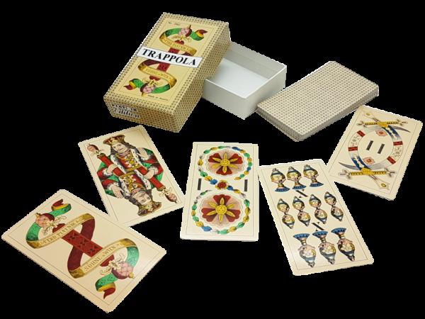 Trappola - Trappola- oder Bulkaspiel, Piatnik-Edition Nr. 2862, offen