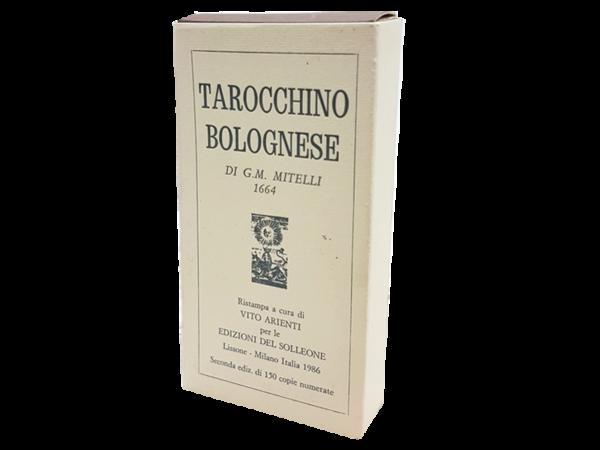 Tarocchino Bolognese - antiquarisches Spiel aus Italien, 1986