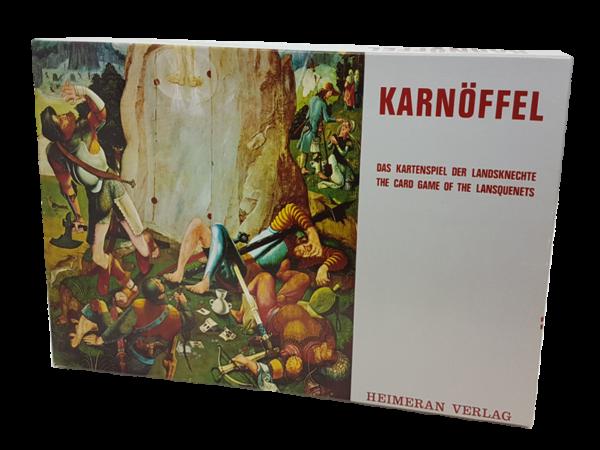 Karnöffel - Antiquarisches Kartenspiel der Landknechte aus dem 15. Jahrhundert.