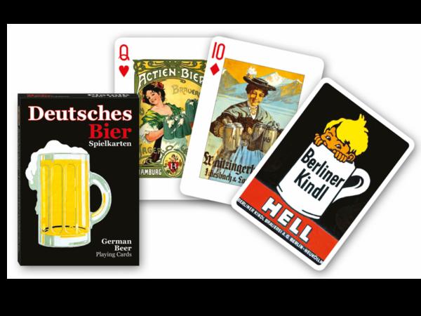 """Bridge-Karten """"Deutsches Bier"""" - Biergenuss der Jahrhunderte in Bildform"""