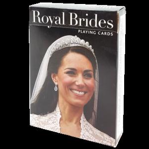 Bridge-Karten mit Bildern von königlichen Bräuten