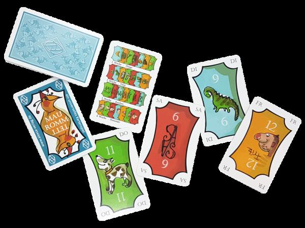 Mau-Romm-Tett, offen: Das universelle Kartenspiel für die ganze Familie auRommTett Offen