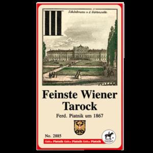 "Tarock-Blatt vom Hersteller Piatnik ""Feinste Wiener Tarock"""