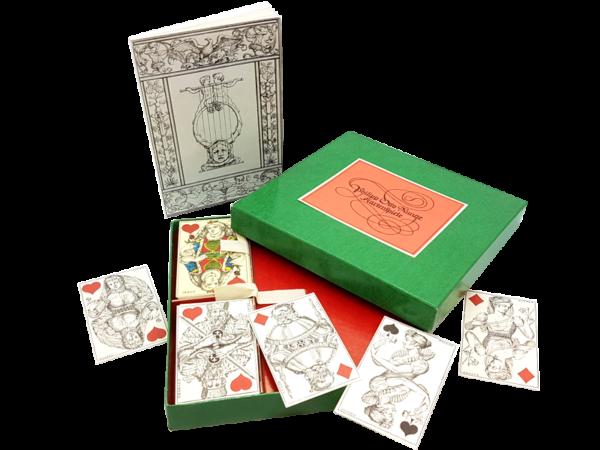 Philipp Otto Runge Kartenspiele - Faksimile von 1977, gespielt um ca. 1450, limitierte und nummerierte Auflage, offen