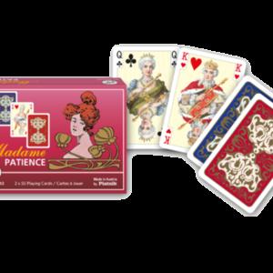 Patience Madame - Patience-Karte für die anspruchsvolle Dame und den Herrn von Welt.