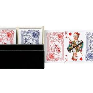 Patience Mini - Patiencekarten, 2 x 54 Blatt mit individueller Vorderseite