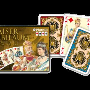 Rommé Kaiser Jubiläum - Mit Bildern von Kaisern, Kaiserinnen, Herzogen und Herzoginnen