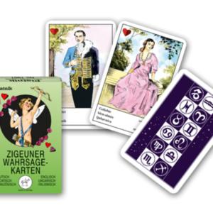 Zigeuner Wahrsagekarten - Ob Sie mit diesen Wahrsagekarten der Wahrheit sehr nahe kommen, ist auszuprobieren