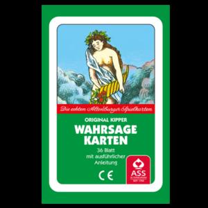 Original Kipper Wahrsagekarten - Der Symbolgehalt der KIPPER-Karte spiegelt sich in Wort und Bild realistisch wider.