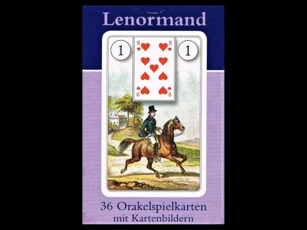 Lenormand Orakelspielkarten - Interpretiert mit der modernen Methodik der psychologischen Deutung