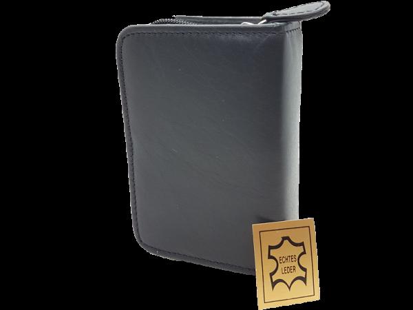 hochwertiges Lederetui für Skat-Karten, echt Leder