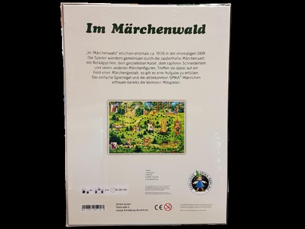 """Brettspiel """"Im Märchenwald"""", Rückseite"""