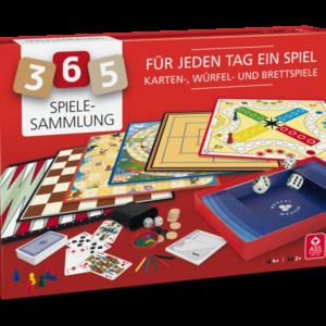 Spielesammlung mit 365 Spielen